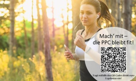 """""""Mach' mit – die PPC bleibt fit"""""""